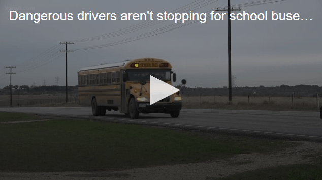 Guadalupe County Sheriff's Office Patrolling Reckless Driving at School Bus Stops